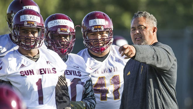 In February, coach Todd Graham added Joe Seumalo to replace Jackie Shipp, who left for a similar position at Missouri.