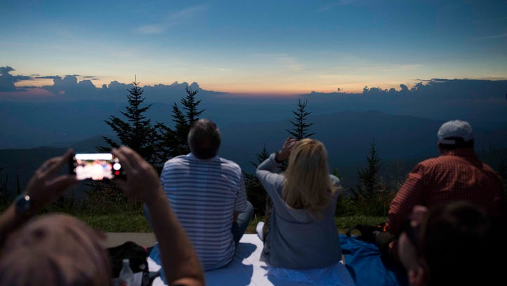 Smokies had record number of visitors in 2017, thanks, in part, to eclipse viewing