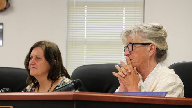 County Commissioners Susan Flores and Janet White will be joined by newly elected County Commissioner for District 3, Lori Bies. Her election makes history as it is the first time the Otero County Board of Commissioners will be all female.