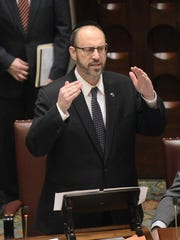 Sen. Simcha Felder, D-Brooklyn, shown Jan. 17, 2017,