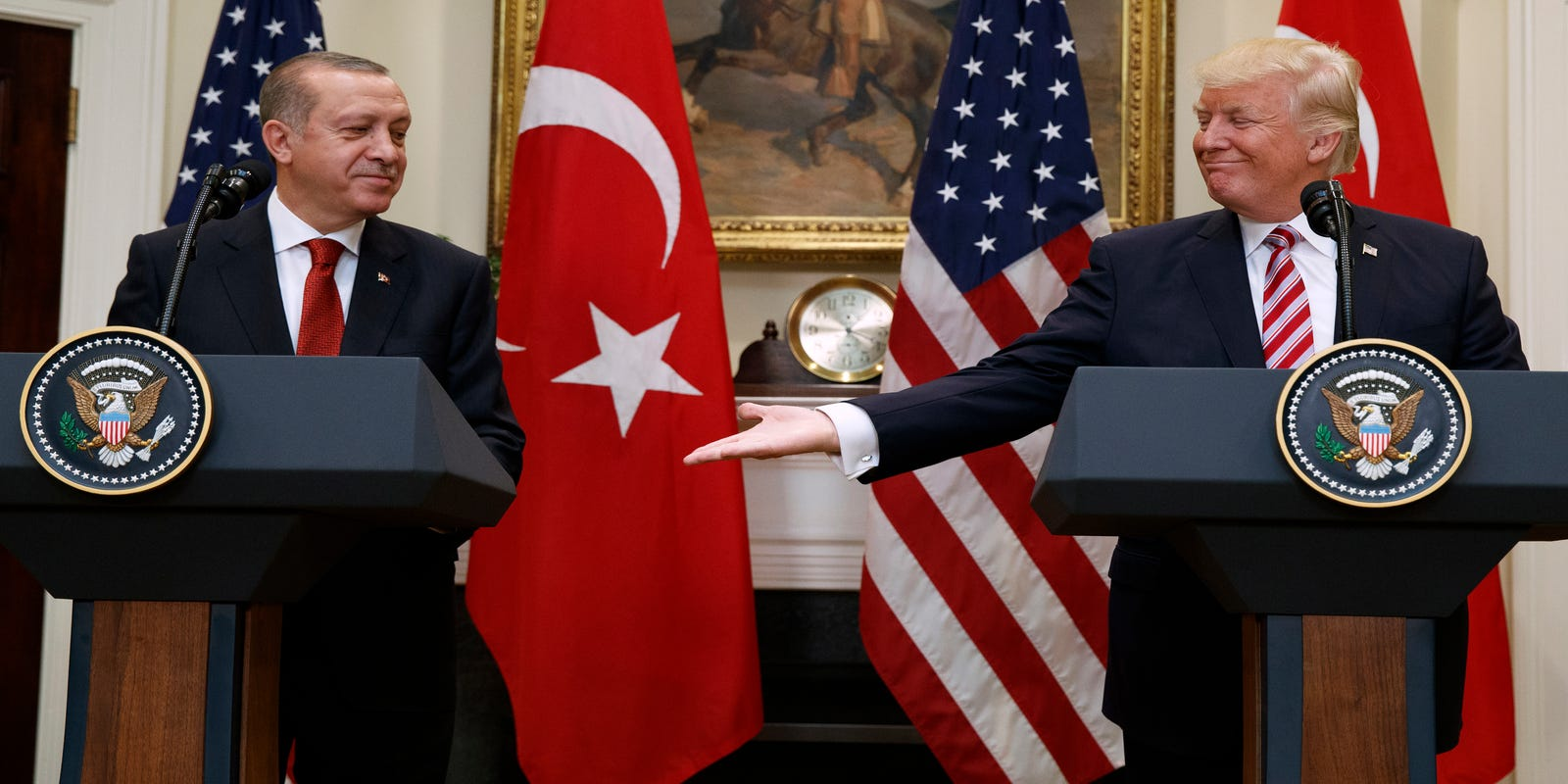 'A particularly inappropriate time': Trump to welcome Erdogan despite Syria attack