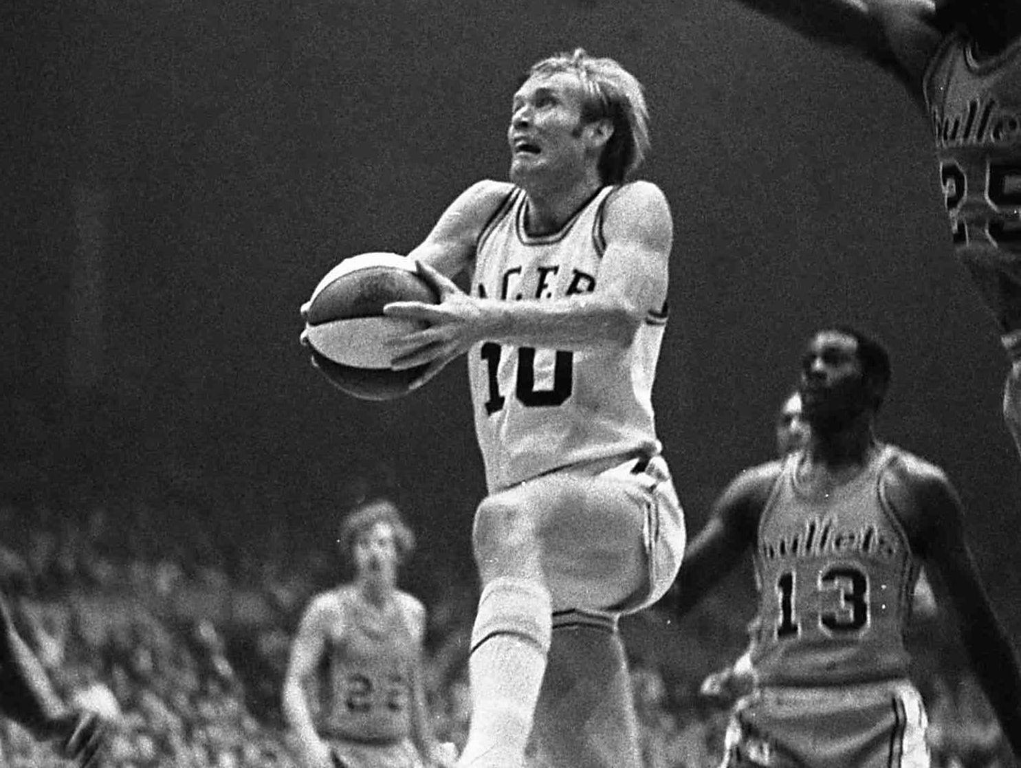 Rick Mount averaged 11.8 points per game in five injury-plagued seasons for the Pacers.