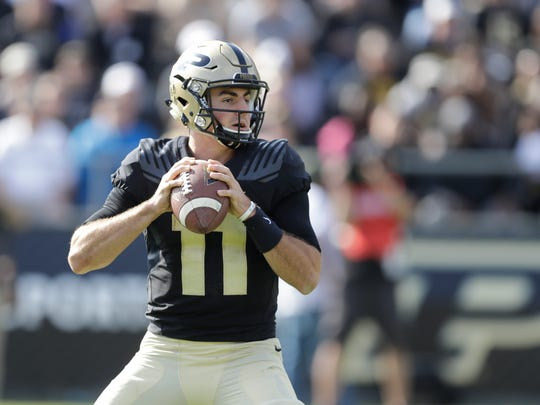 Purdue QB David Blough is looking for his third-straight 300-yard passing game Saturday against Penn State. That may be the Boilermakers only chance.