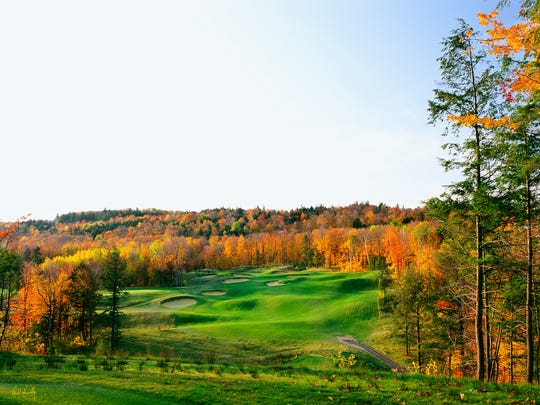 The 11th hole at Greywalls in Marquette, Mich.