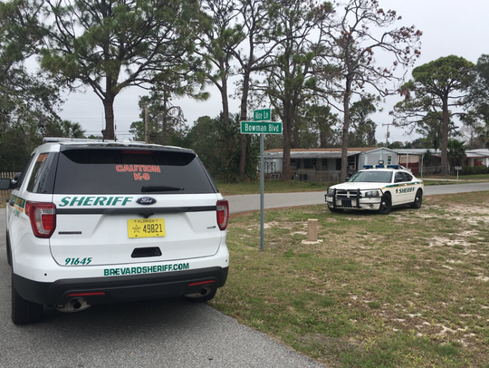 Deputies were searching for a  credit union robbery