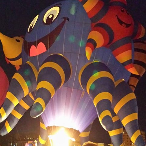 Manitowoc events: Lakeshore Balloon Glow, county fair help celebrate last days of summer