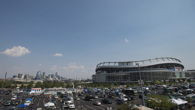 The home of the Broncos will be temporarily known as Broncos Stadium at Mile High.