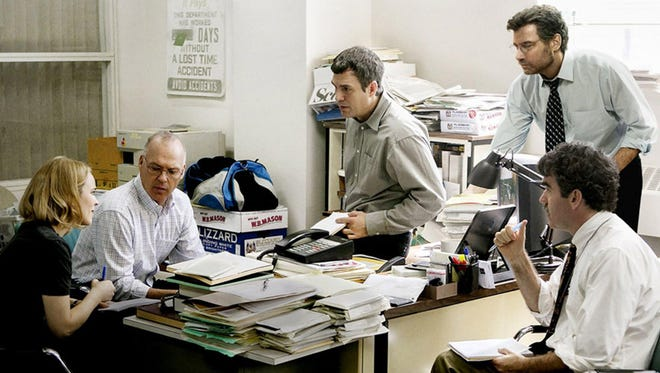 """""""Spotlight,"""" which told the story of the Boston Globe's investigation into child sex abuse in the Catholic Church, won Best Picture at the Oscars and is now out on DVD."""