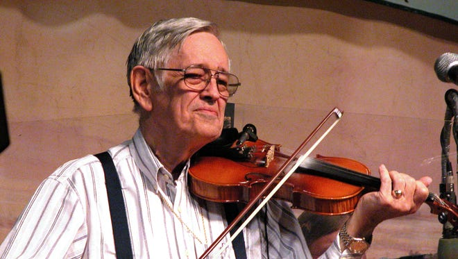 """Elton """"Bee"""" Cormier, founder of the Church Point Playboys, is remembered for developing young Cajun musicians."""