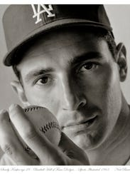 Neal Barr's photo of Sandy Koufax at age 28 ran in