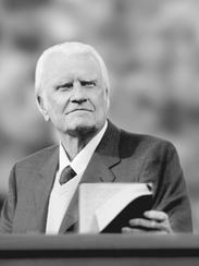 The Rev. Billy Graham.