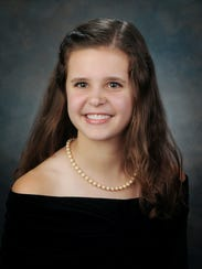 Sarah Bryant is the valedictorian of Brentwood Academy's