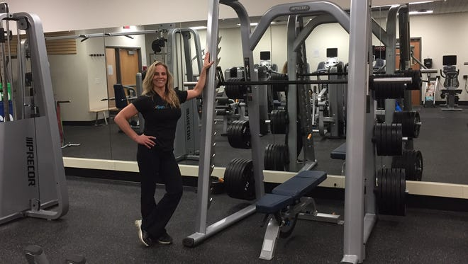 "Lara Dunn opened her second gym in March. ""The Gym"" is at 540 Danby Road in the South Hill Business Park building."