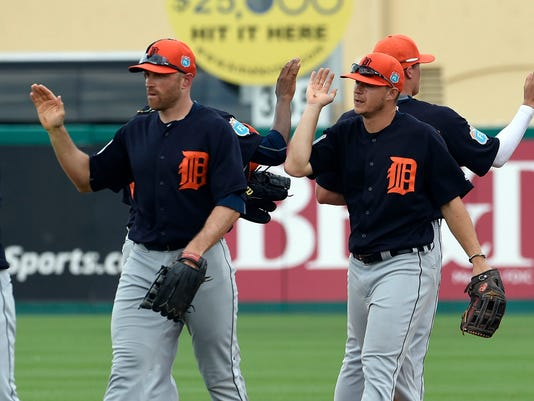 MLB: Spring Training-Detroit Tigers at St. Louis Cardinals