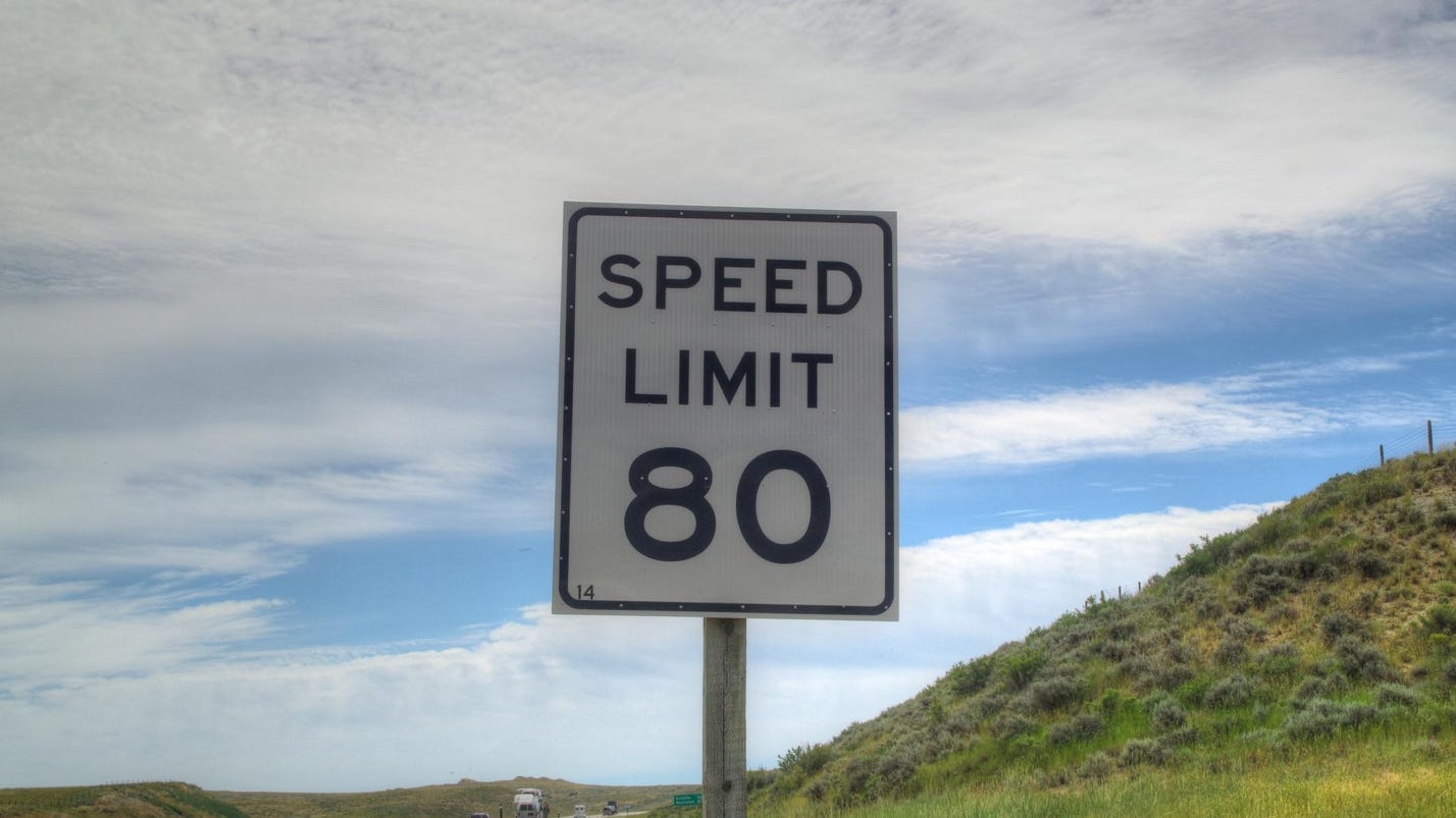 One View Why Doesnt Nevada Post The  MPH Speed Limit - Us highway map with speed limits