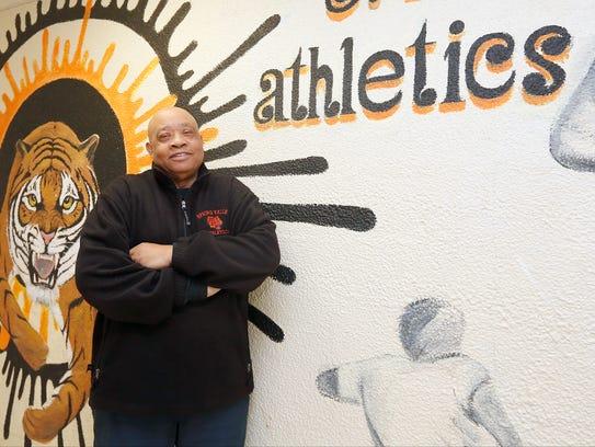 Spring Valley head basketball coach Willie Worsley
