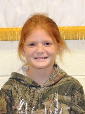 Ava Radford is a third-grader at Warfield Elementary