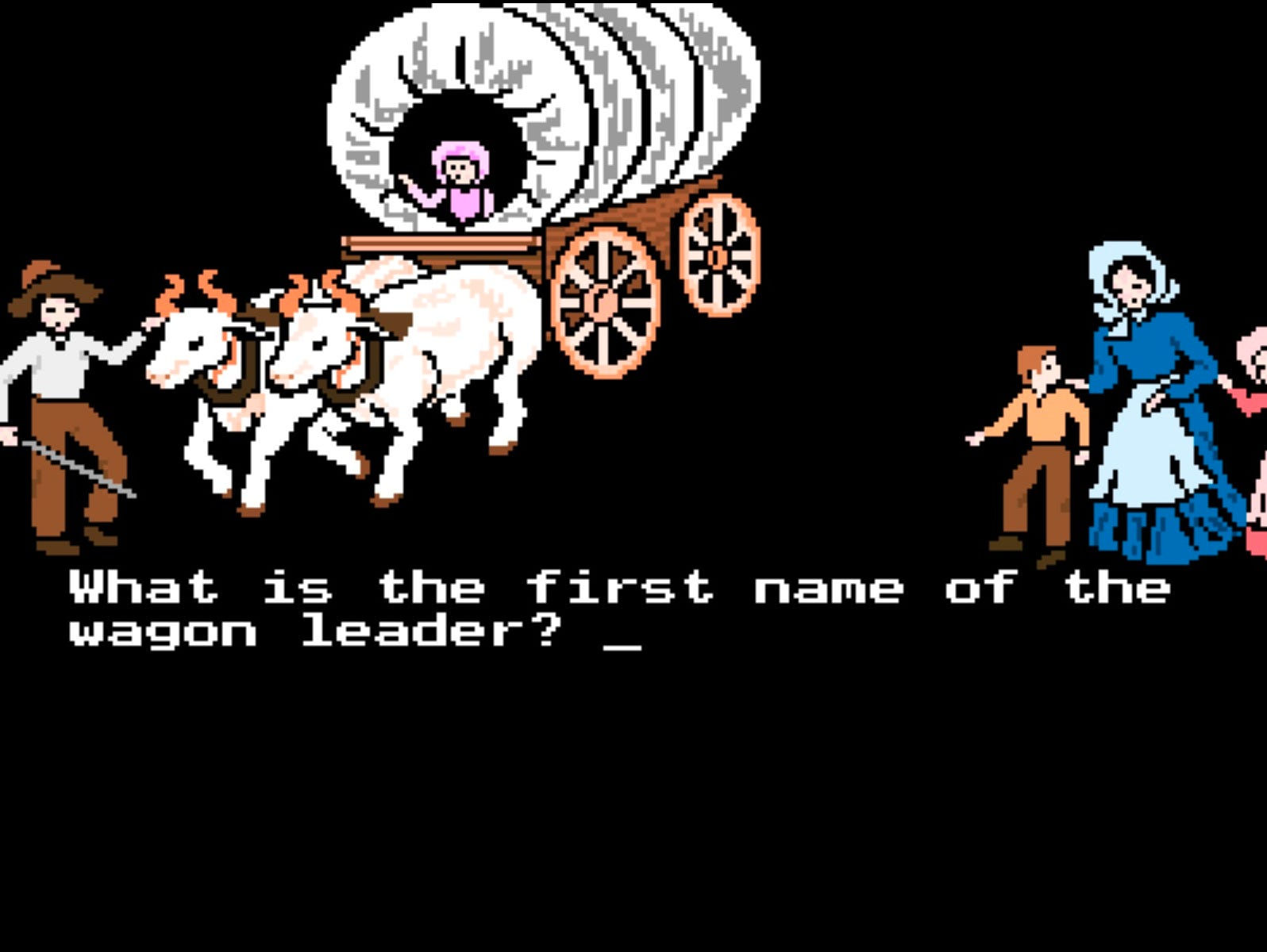 The 1990 version of The Oregon Trail was created by MECC. It was used to teach history and geography.
