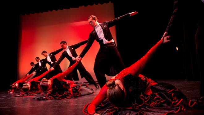 The Elsinore stage will sizzle when Dancing with Salem Stars returns for a fourth year on May 13. The show features dancing by six Salem stars followed by a performance by the Utah Ballroom Dance Company.