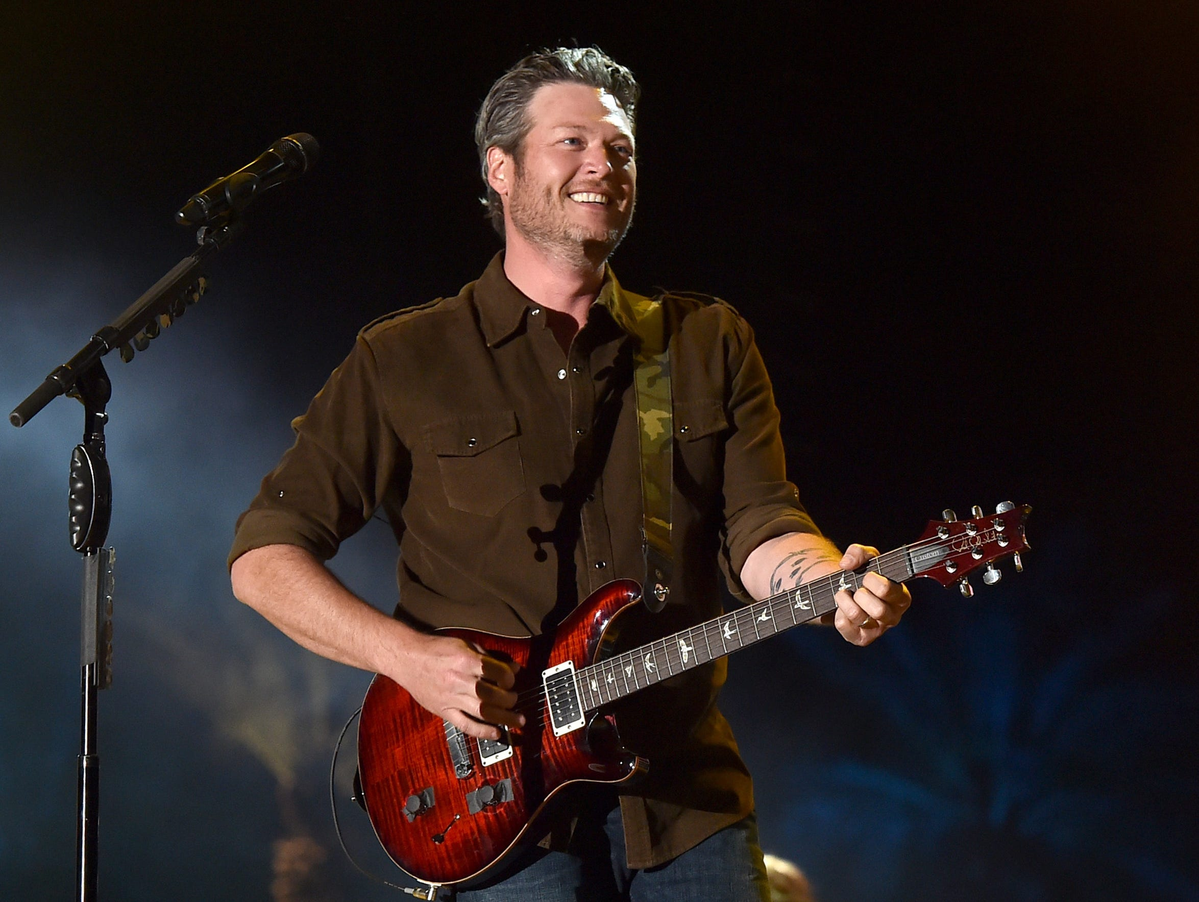 Blake Shelton is among the big names headed to Country