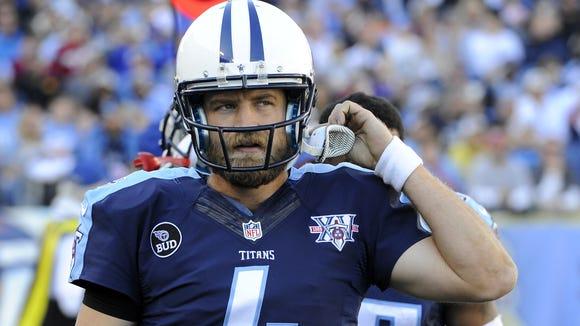 Former Titans quarterback Ryan Fitzpatrick.