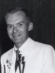 John Ward in July of 1966.