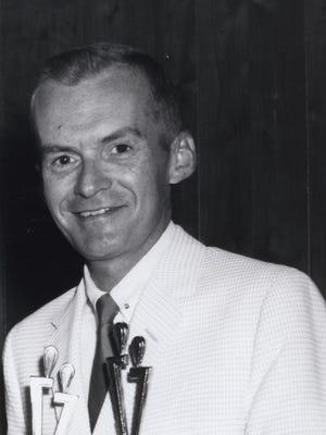 John Ward in July of 1966.
