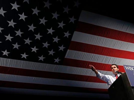 APTOPIX Wisconsin Republican Convention