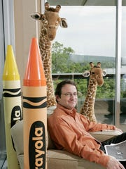 Gerald Storch in 2006 at his former office at the Toys R Us headquarters in Wayne, soon after he became chairman and chief executive of the toy retailer.