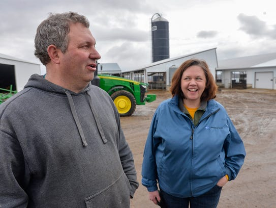 Rural South Haven farmers Rich and Marlys Janski talk
