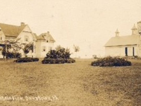 The Blair Farm west of Orrstown during the early 1900's