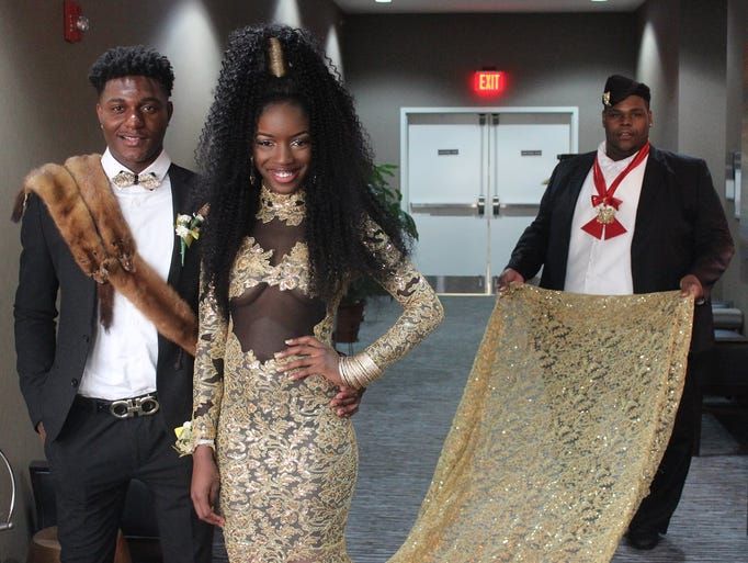 Jawana Young and her friends recreated a popular scene