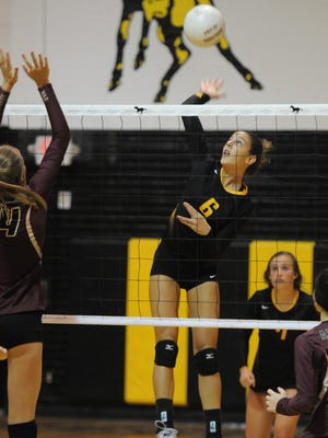 Merritt Island's Lexy Denaburg had 6 kills, 7 digs, a block and an ace in a match last week. Is it enough to get her into the Athlete of the Week voting?
