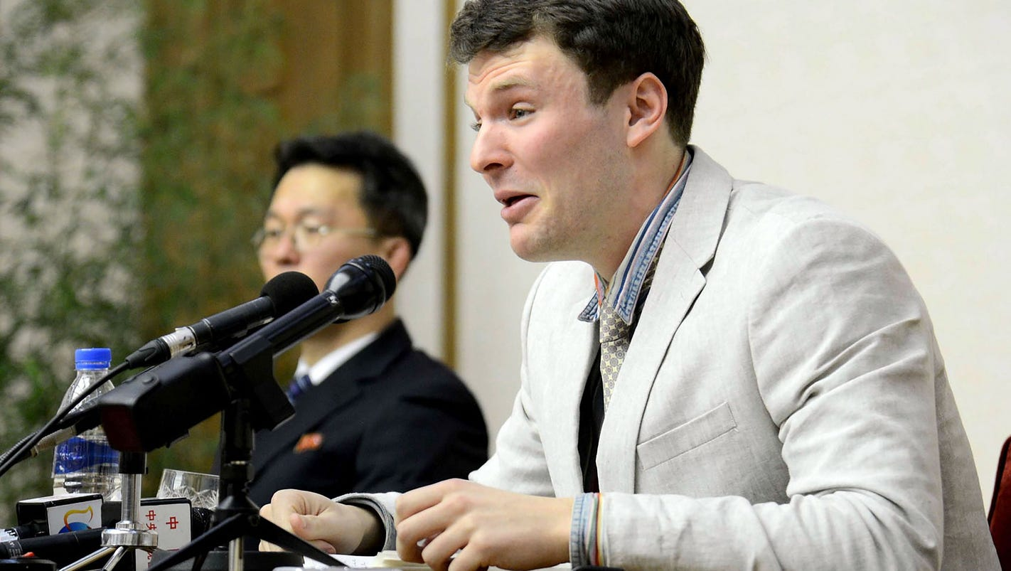 Image result for Tour enterprise Warmbier used on North Korea ride
