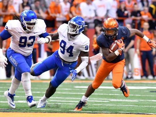 NCAA Football: Middle Tennessee at Syracuse