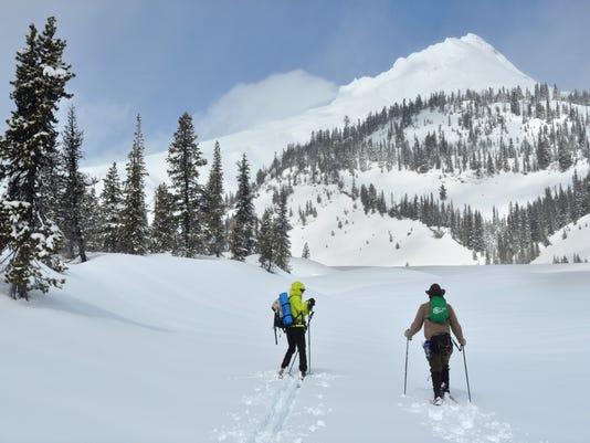 Mt Hood WhiteBranchCanyonSkiing