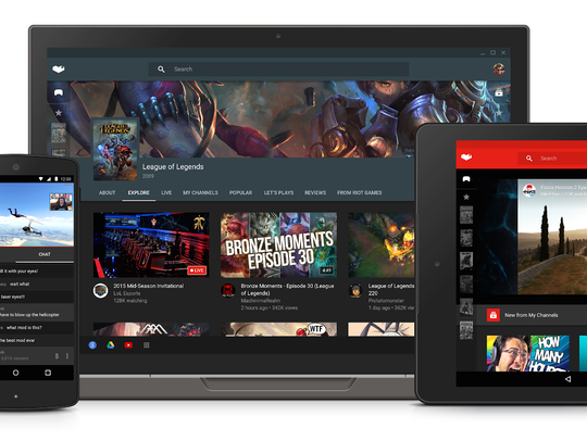 YouTube plans to launch its YouTube Gaming service