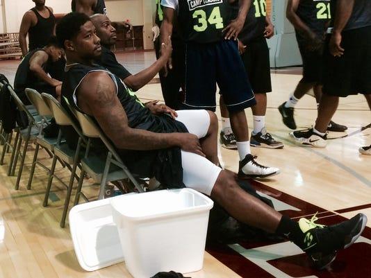 Ben Tate basketball