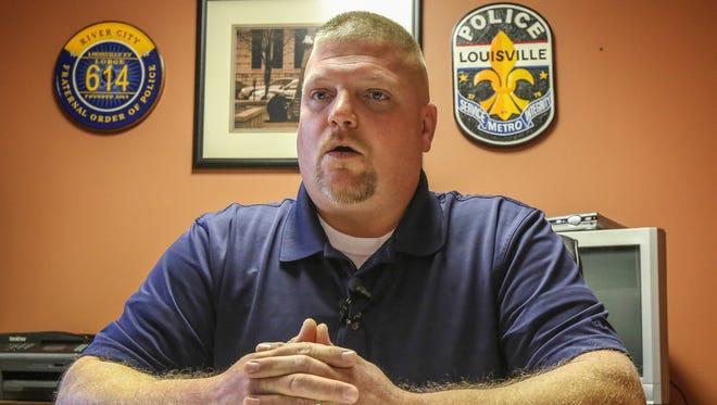 Dave Mutchler, President of the Fraternal Order of Police.November 23, 2016
