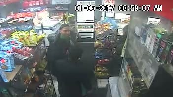 Milwaukee police released images of a suspect in the fatal beating of a gas station clerk. The homicide occurred on Jan. 5, 2017.
