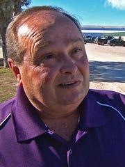 Superintendent Ken Baugh of Gustine Independent School