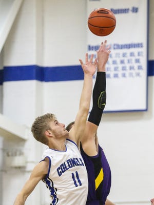 Covington Catholic's Bo Schuh recorded a double-double with 10 points and 12 rebounds in a 68-65 win over Wilmington Monday night.