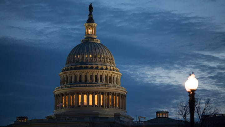 The Capitol Dome is pictured on Feb. 7, 2017.