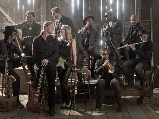 The Tedeschi Trucks Band plays Cascades Park just in