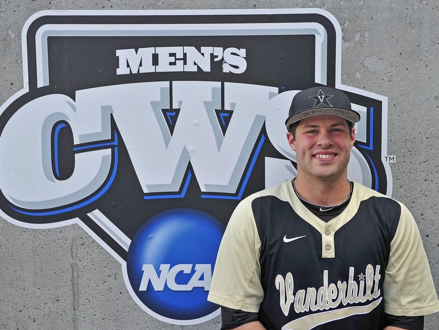 Vanderbilt pitcher Steven Rice wrote a diary during his team's journey to the College World Series at TD Ameritrade Park in Omaha, Nebraska on June 25, 2014.