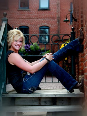 Jessica Hannan, a Mansfield resident, will hold a five-song country western music EP party Saturday night at the Liederkrantz.