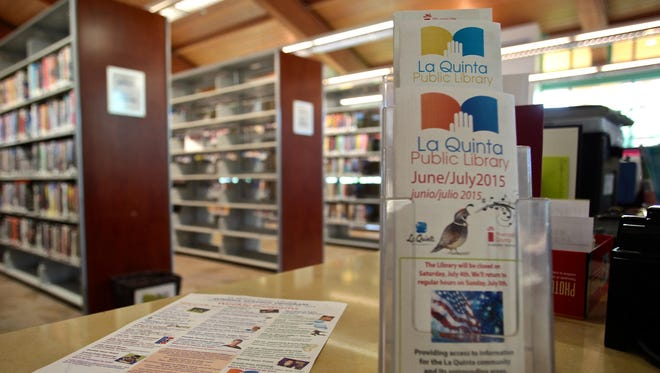 La Quinta's 10-year-old public library will undergo $1.2 million in renovations including new LED lighting, bathroom renovations, and landscaping.