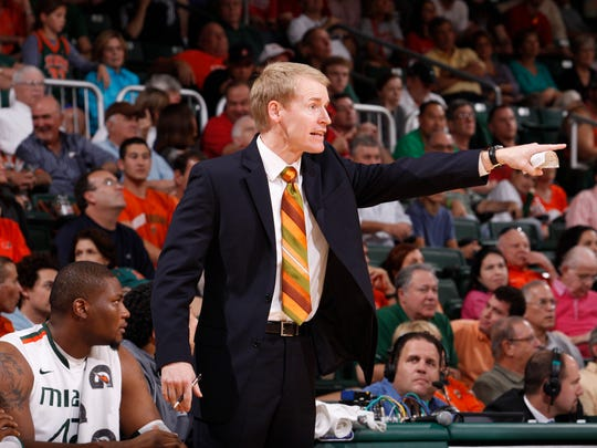 Eric Konkol, who spent 11 years as an assistant to Jim Larranaga at George Mason and Miami, was introduced Monday as Louisiana Tech's new basketball coach.