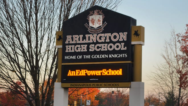A meeting was held at Arlington High School on Wednesday, Jan. 14, 2015, to discuss upcoming changes and gather public input, before the Northeastside school reverts back to Indianapolis Public Schools' control in June 2015.