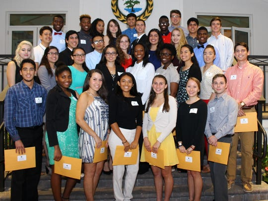 The 2017 Founders Fund Scholarship Recipients.
